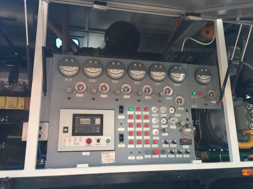 Пульт управления азотной станции