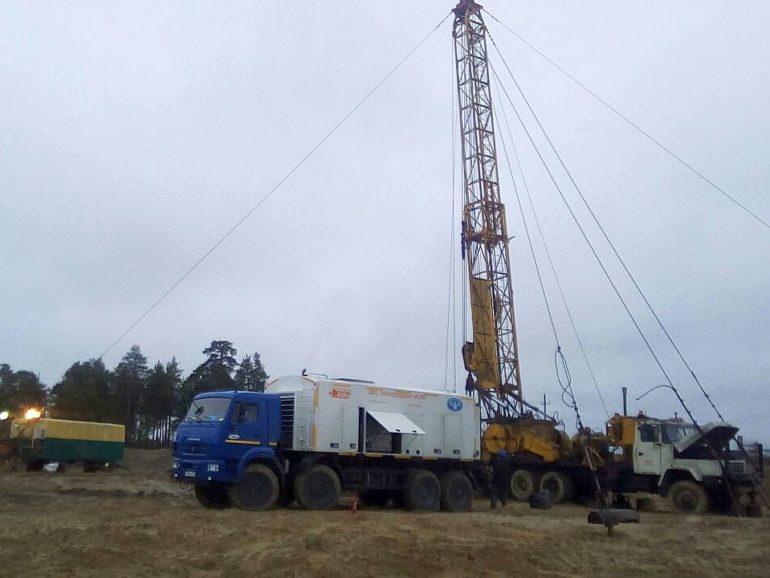 Освоение скважин компрессованием на Северо-хохряковском месторождении