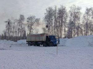 Мобильная азотная станция на грузовом шасси