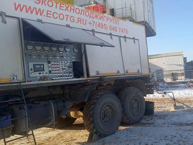 Бурение поисково-разведочной скважины на Сахалине
