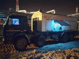Азотирование газопроводов и пневматические испытания на Чаяндинском НГКМ